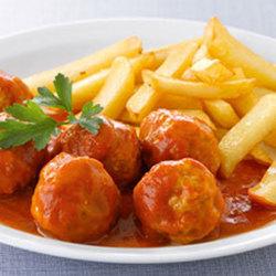 Ballekes in tomatensaus schotel (7 st)